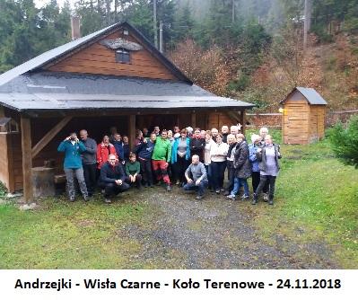 Andrzejki - Wisła Czarne - Koło Terenowe - 24.11.2018