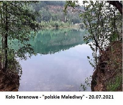 """Koło Terenowe - """"polskie Malediwy"""" - 20.07.2021"""